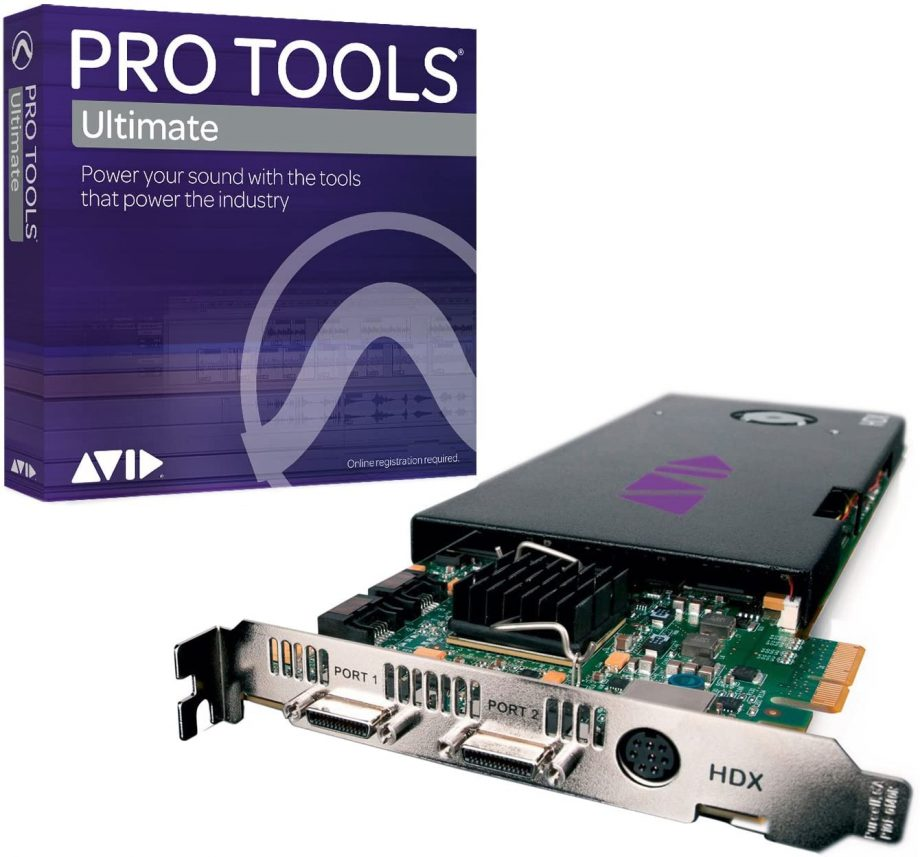 HDX with Pro Tools Ultimate