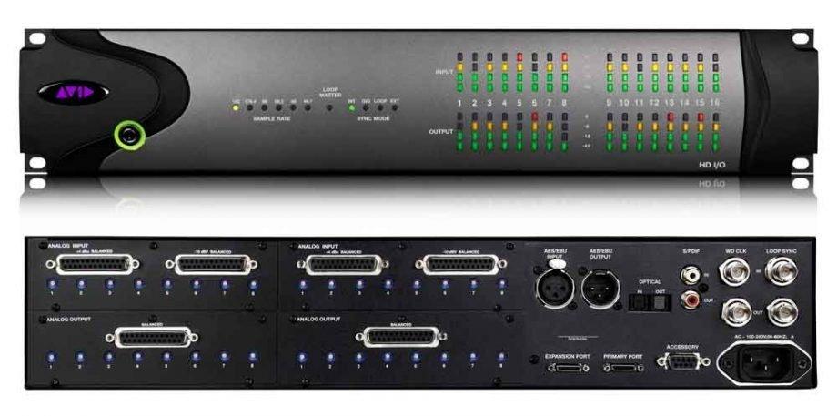 Pro Tools HD IO
